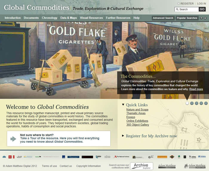 What is Global Commodities?